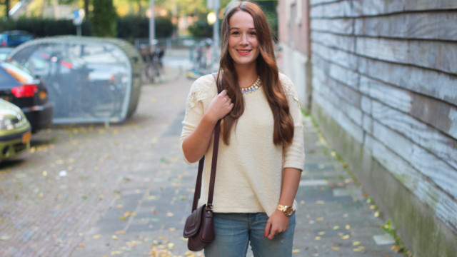 C&A trui, modemusthaves ketting