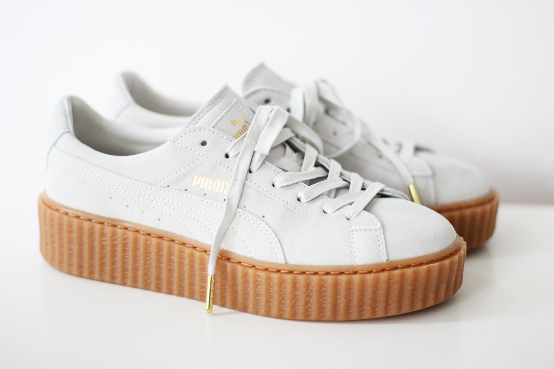 6c2564f3edc Rihanna for Puma creepers en Marc Jacobs ketting – Jennie from the Blog