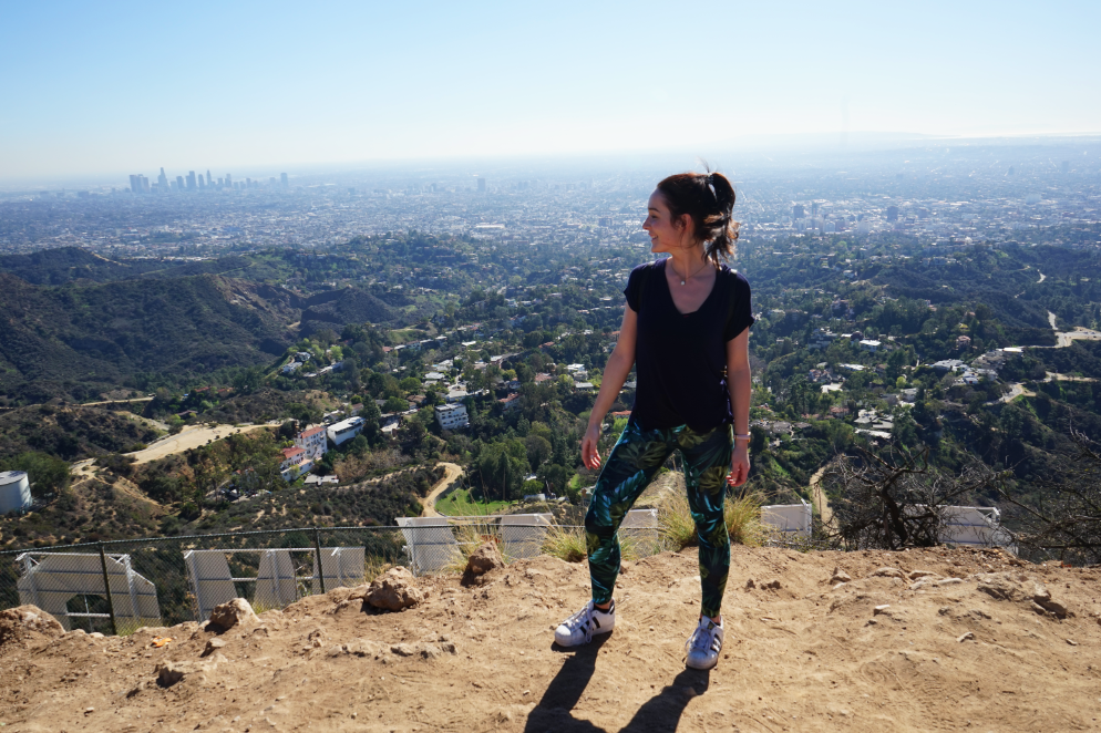 Jennie from the Blog Hollywood sign 6